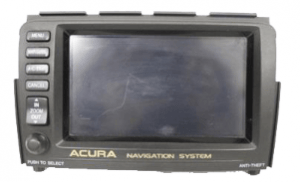 acura mdx nagivation display 2001to2002 transparent