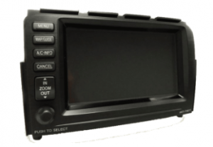 acura mdx nagivation display 2005to2006 transparent
