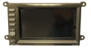 acura rl nagivation display 2004 transparent