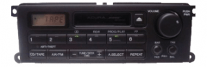 acura rl radio cassette 1999to2002 transparent
