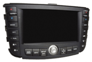 acura tl nagivation display 2004to2006 blackscreen transparent