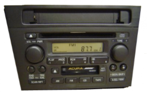 acura tl radio cd changer 1999to2003 transparent
