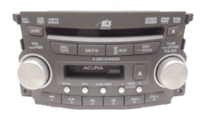 acura tl radio cd changer 2004to2008 transparent