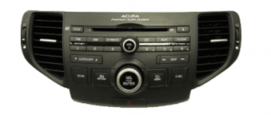 acura tsx radio cd player 2009to2011 transparent
