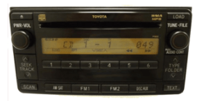 toyota non jbl 6 cd player multi model 2003to2011
