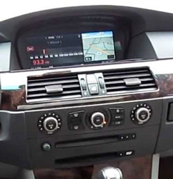 BMW Navigation Stereo CD Changer Radio Display Repair