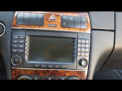 Lexus Van Nuys >> How to Remove Radio / Display from Mercedes CLK350 2008 ...