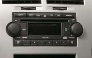 Chrysler Jeep Radio CD Player