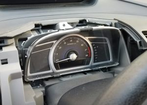 How to Remove Speedometer Cluster