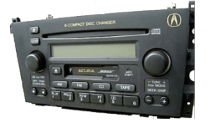 acura cl radio cd changer 2001to2004 2 transparent