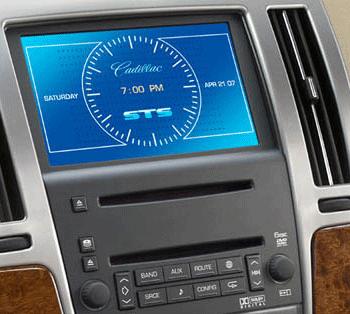 Cadillac Navigation CD Changer DVD Display Cluster Repair
