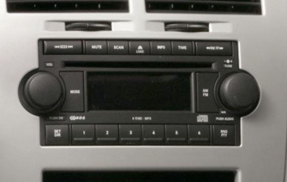 DODGE Navigation DVD Changer Radio Display Repair