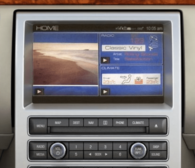 Ford_Flex_Navigation_CD_Player_09-12
