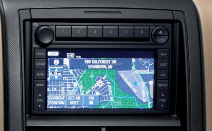 Ford Multi Car Navigation Cd Player 06 09 Alt