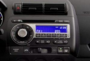 Honda Fit Radio Single CD Player 2007 to 2008