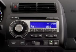Honda Fit Radio Single CD Player 2007 to 2008