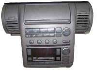 Infiniti Radio Cd Changer Climate Control 2003 To 2004