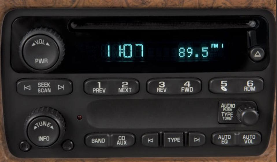Isuzu Original Factory Stereo Repair Isuzu Radio Repair