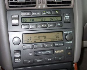 lexus-GS300-GS340-radio-cassette-1998to2001