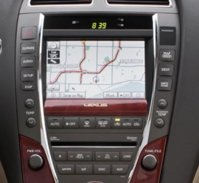 Lexus Navigation CD Changer DVD Display Cluster Repair
