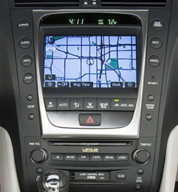 lexus-gs300-navigation-cassette-cd-changer-2006to2009-1