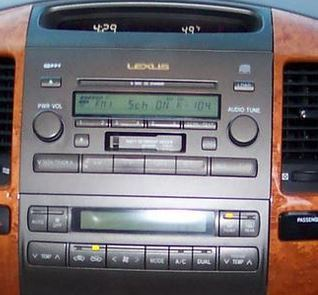 Lexus Gx Cassette Cd Changer To on Speakers 2006 Lexus Is350