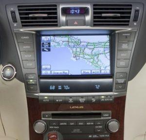 lexus-ls460-navigation-cassette-cd-changer-2007and2009