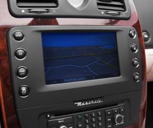 Maserati navigation radio