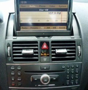 Mercedes Navigation CD Changer DVD Display Cluster Repair