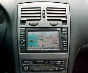 Nissan Maxima Navigation 2000 To 2003