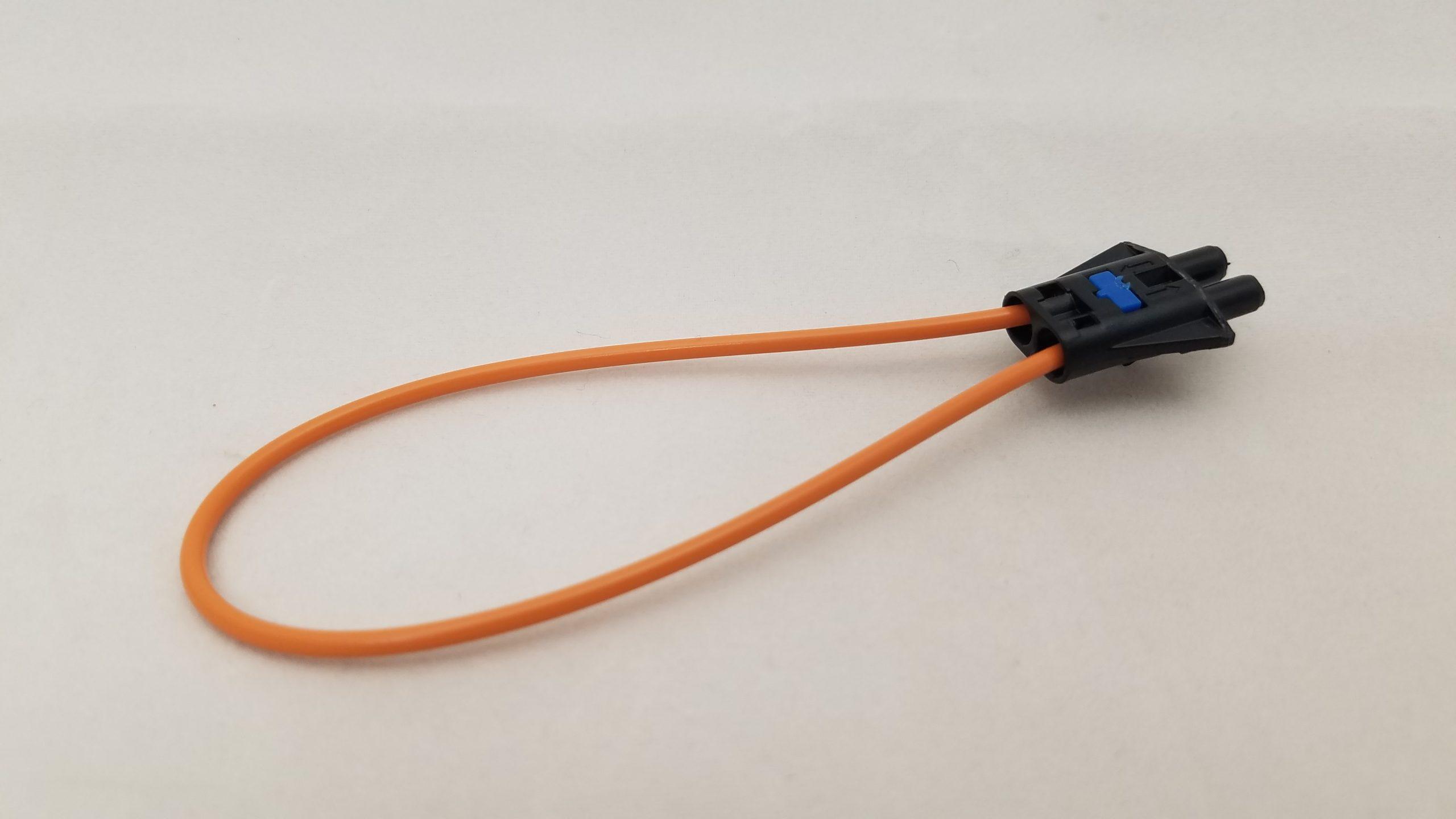 fiber-optic-loop connector