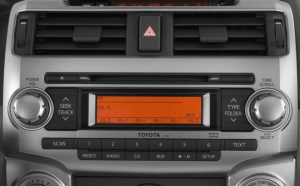toyota 4runner 6 cd changer 2010to2013