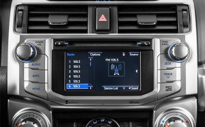 toyota 4runner non jbl navigation cd player 2014to2015