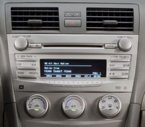toyota camry in dash cd changer 2007to2011