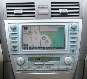 toyota camry navigation in dash cd changer 2007to2009