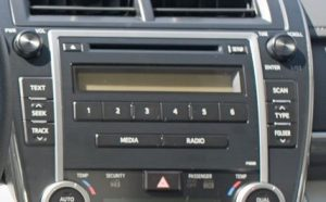 toyota camry non jbl in dash 6 cd player 2012to2013