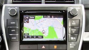 toyota camry non jbl navigation in dash cd changer 2015to2016