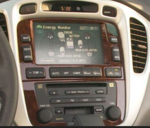 toyota highlander navigation radio cd player jbl 2004to2007