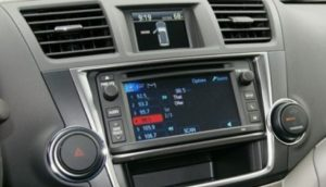 toyota highlander navigation radio cd player jbl 2013