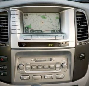 toyota land cruiser non jbl navigation cd player 2003to2007