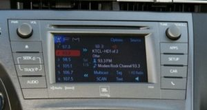 toyota prius jbl navigation with apps radio cd player 2012to2014