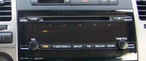 toyota prius non jbl radio cd player 2006to2009 cropped