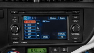 toyota priusc navigation non jbl radio cd player with apps 2012to2014