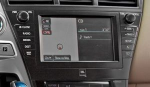 toyota priusv navigation jbl with apps radio cd player 2012to2014