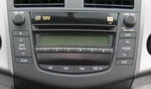 toyota rav4 jbl radio 6 cd player 2006to2011
