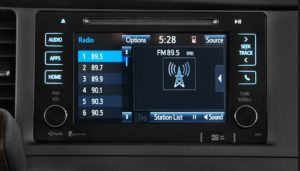 toyota sienna non jbl touch screen with apps 2015